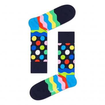 Happy Socks Socken - schwarz/bunt/gemustert