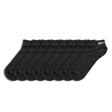 Skechers Sneakersocken 8er-Pack - 8x schwarz